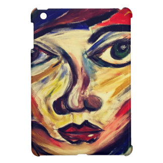 Abstract woman's face iPad mini case