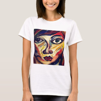 Abstract woman's face T-Shirt