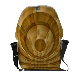 Abstract wood pattern courier bags