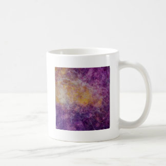 Abstract Yellow and Purple cloud, colourful design Coffee Mug