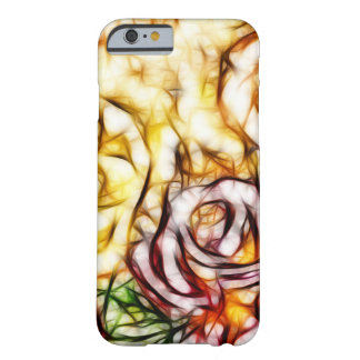 Abstract Yellow Light Rose Artistic Floral Glow Barely There iPhone 6 Case