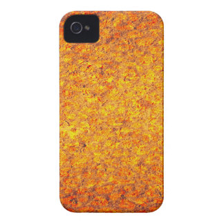 Abstract yellow orange rusty metal surface iPhone 4 cases