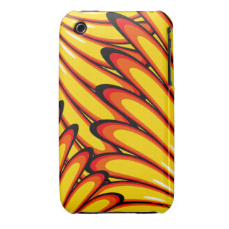 abstract yellow sunflowers iPhone 3G/3GS Case