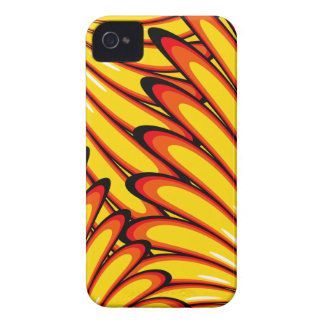 abstract yellow sunflowers iPhone 4 Case-Mate