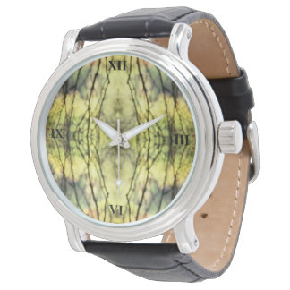 Abstract Yellow Trees Watch