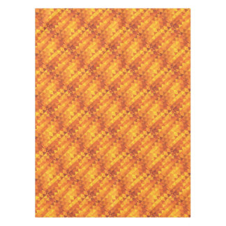 Abstract Yellow Triangles Tablecloth