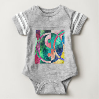 Abstract Yin Yang Nebula Baby Bodysuit