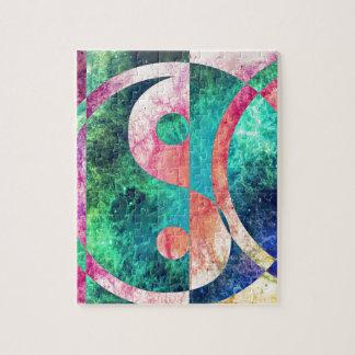 Abstract Yin Yang Nebula Jigsaw Puzzle