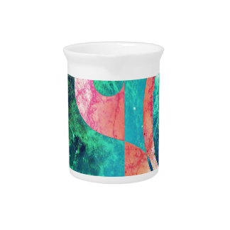 Abstract Yin Yang Nebula Pitcher