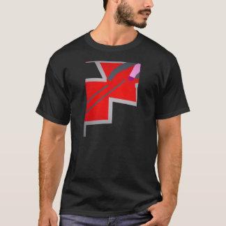 Abstract Zig Zag Art T-Shirt