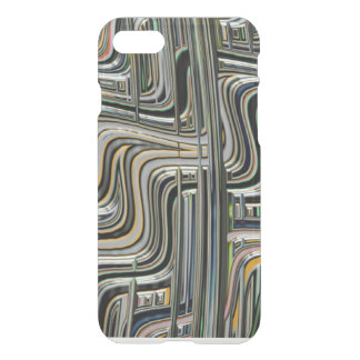 Abstract Zig Zag Lines iPhone 7 Case