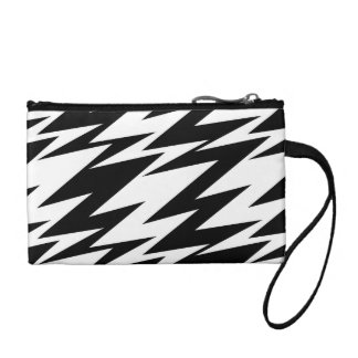 Abstract Zigzag Coin Purse