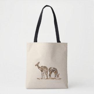Abstracted Kudus Tote Bag