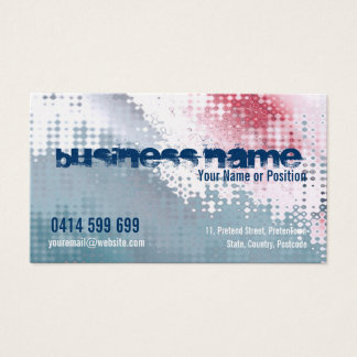 Abstractical Platinum Business Card