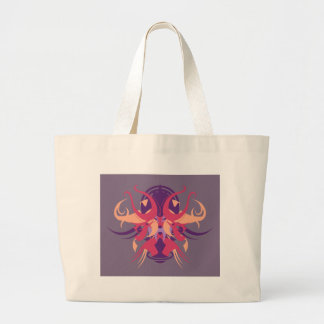 Abstraction Eight Dolos Large Tote Bag