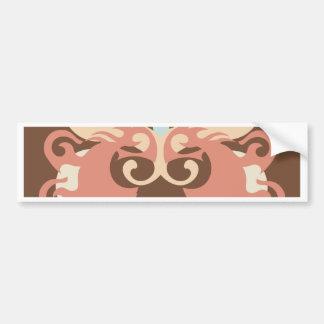 Abstraction Five Tlaloc Bumper Sticker