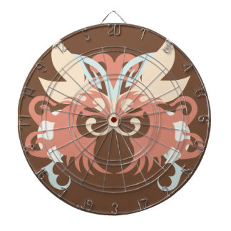 Abstraction Five Tlaloc Dartboard