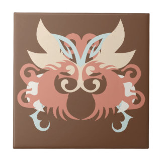 Abstraction Five Tlaloc Tile