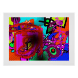abstraction for walls, prints