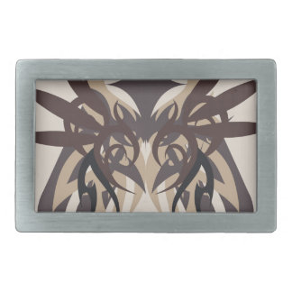 Abstraction Four Terra Belt Buckle