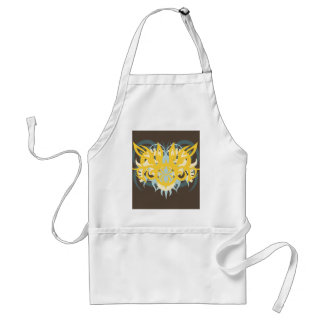 Abstraction Nine Imperious Standard Apron