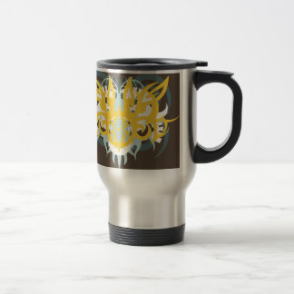 Abstraction Nine Imperious Travel Mug