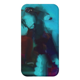 Abstraction painting iPhone 4 cases