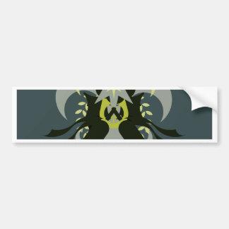 Abstraction Seven Loki Bumper Sticker