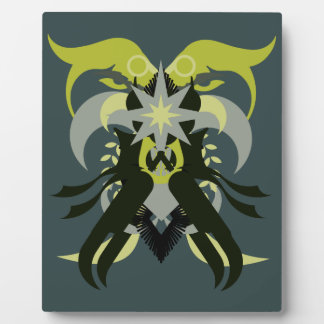 Abstraction Seven Loki Plaque