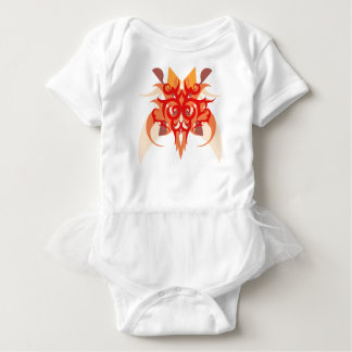 Abstraction Six Ares Baby Bodysuit