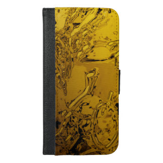 abstraction: spray iPhone 6/6s plus wallet case