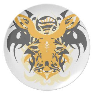 Abstraction Ten Nemesis Plates