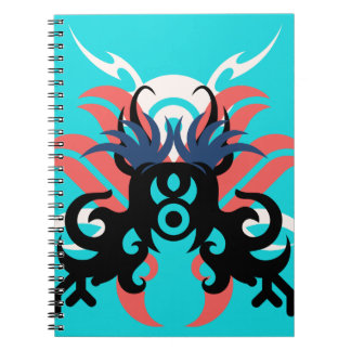 Abstraction Three Aura Notebook
