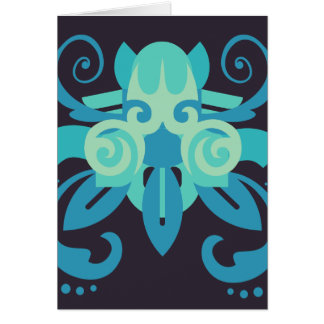 Abstraction Two Poseidon Card