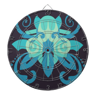 Abstraction Two Poseidon Dartboard