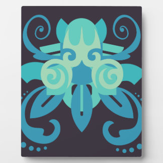 Abstraction Two Poseidon Plaque
