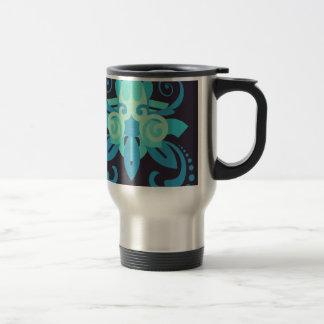 Abstraction Two Poseidon Travel Mug