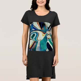 Abstraction with Geometric Spirit Dress