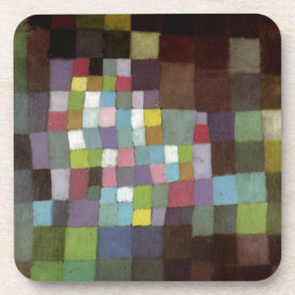 Abstraction with Reference to a Flowering Tree by Drink Coasters