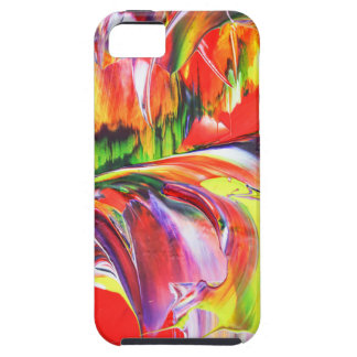 Abstractly in perfection 6 tough iPhone 5 case
