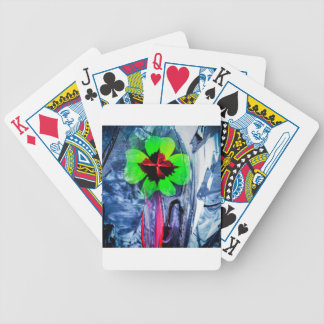 Abstractly in perfection luck bicycle playing cards