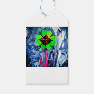 Abstractly in perfection luck gift tags