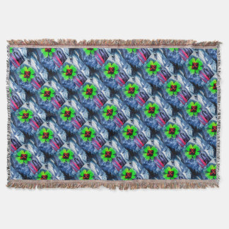 Abstractly in perfection luck throw blanket