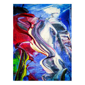 Abstractly in perfection postcard