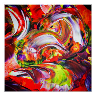 Abstractly in perfection poster