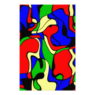 Abstractly samples stationery