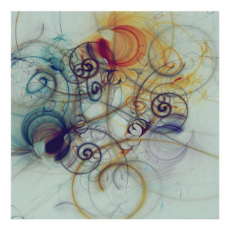 Abstracts composition 172 poster