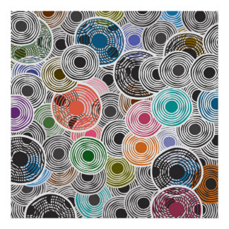 Abstracts composition 390 poster
