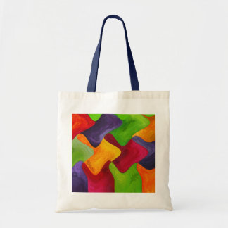 Abstracts Budget Tote Bag