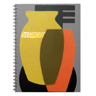 Abstracvt Vases Notebook